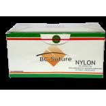 Fio De Sutura Nylon BC Suture Nº 1 45cm AG 3/8 Triangular Caixa C/ 24 Und. - Bio-line