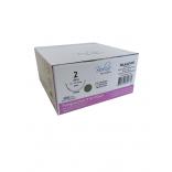 Fio de Sutura Poliglactina 910-PGLA Nº 2 - 70 Cm Ag 1/2 Triang. 4,0 Cm 1 Und. - Bioline