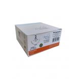 Fio de Sutura Poliéster Nº 2 C/ 75 Cm Ag 1/2 Triang. 4,0 Cm 1 Und. - Bioline