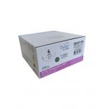 Fio de Sutura Ácido Poliglicólico ABS / PGA Nº 6 - C/ 150 cm Ag 1/2 Triang. 4,8 cm 1 Und. - Bioline