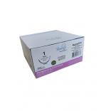Fio de Sutura Poliglactina 910-PGLA Nº 1 - 70cm - Ag 1/2 Triang. 3,7cm 1 Und. - Bioline