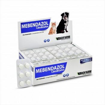 Mebendazol Cães e Gatos c/ 6 Comprimidos - Biofarm