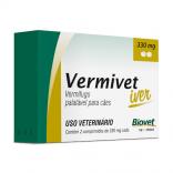 Vermivet Iver 330 mg para Cães c/ 2 Comprimidos - Biovet