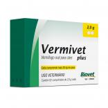 Vermivet Plus 2,0 Gr Cães c/ 2 Comprimidos - Biovet