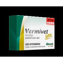 Vermivet Iver 660 mg c/ 4 Comprimidos - Biovet