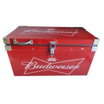 Caixa Térmica Metálica Vermelha 40 Litros P/ Alimentos e Bebidas