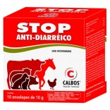 Stop Anti-Diarréico 10 g cx c/ 10 Unidade - Calbos