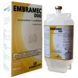 Embramec Duo (Iivermectina + Levamisol)  Fr 500 ml