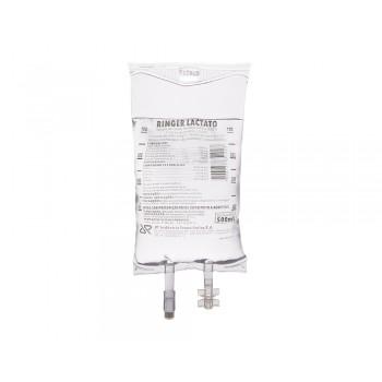Ringer C/ Lactato Bolsa Pvc 500 mL - Jp - Farma