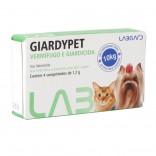 Giardypet Giardicida P/ Cães e Gatos C/ 4 Comprimidos - Laborvet