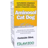 Aminosol Cat e Dog 50 mL - Lavizoo