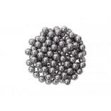 Esferas de Metal 0,25 P/ Lacrar Palheta C/ 2500 Unidades