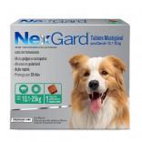 Antipulgas E Carrapatos Nexgard Cães 10,1 A 25 kg 3,0 Gr - Caixa C/ 3 Comprimidos
