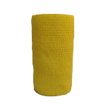 Atadura Elástica Flexível 10cm X 4,5mt Amarela - SYR Vet