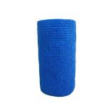 Atadura Elástica Flexível 10cm X 4,5mt Azul Escuro - SYR Vet