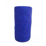 Atadura Elástica Flexível 10cm X 4,5mt Azul Royal - SYR Vet