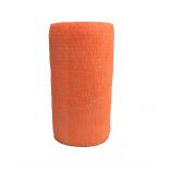 Atadura Elástica Flexível 10cm X 4,5mt Laranja Neon - SYR Vet