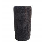Atadura Elástica Flexível 10cm X 4,5mt Preto - SYR Vet