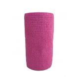 Atadura Elástica Flexível 10cm X 4,5mt Rosa - SYR Vet