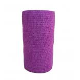 Atadura Elástica Flexível 10cm X 4,5mt Lílas - SYR Vet