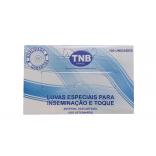 Luva de Palpação Tam M c/ 100 Un - Tnb