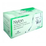 Fio De Sutura Nylon Nº 0 Cx C/ 24 Und. Agulhado - Technofio