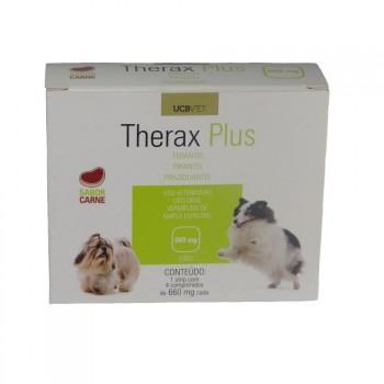 Vermifugo Therax Plus P/ Cães 660 Mg - Ucbvet