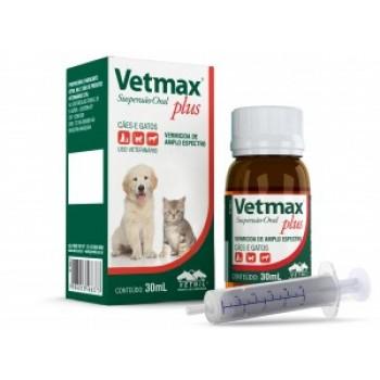Vetmax suspensão oral 30 mL - Vetnil