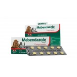 Mebendazole Cães e Gatos Blister c/ 10 Comprimidos - Vetnil