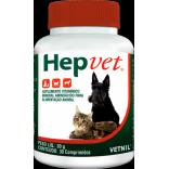 Hepvet 30gr c/ 30 Comprimidos - Vetnil