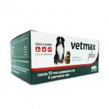Vetmax Plus ( Cx. Contendo 20 Cartucho C/ 4 Comprimidos de 700 Mg Cada ) - Vetnil