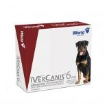 Ivercanis (Ivermectina) 6 mg C/ 4 Comprimidos - World