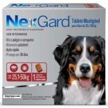 Antipulgas E Carrapatos Nexgard 25 A 50 Kg 6 Gr - Caixa C/ 3 Comprimidos
